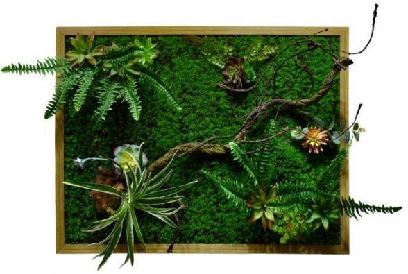 Фитокартна из искусственных растений
