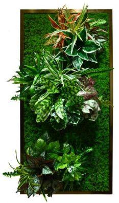 Купить картину из искусственных растений