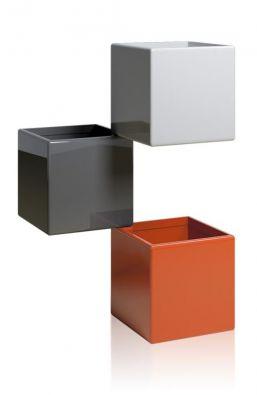 Кашпо Куб Трио