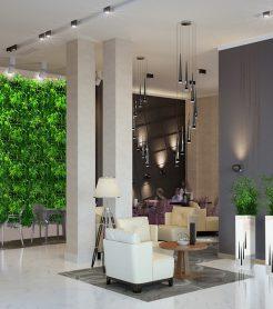 Озеленение гостиниц