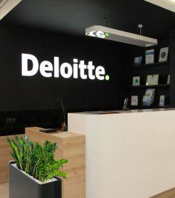 Офис Deloitte