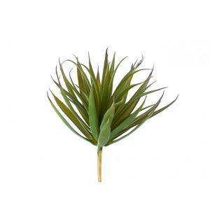 Трава Суккулент искусственная зелено-бордовая
