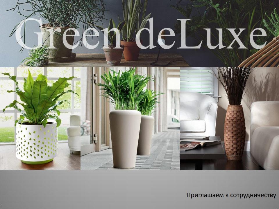 Каталог кашпо Green de luxe 2019