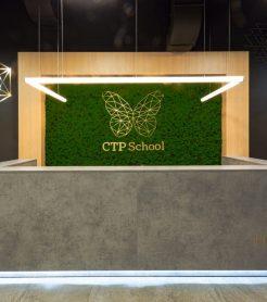 Озеленение стабилизированным мхом CTP School